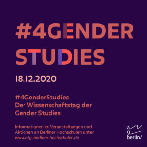 sharepic #GenderStudies
